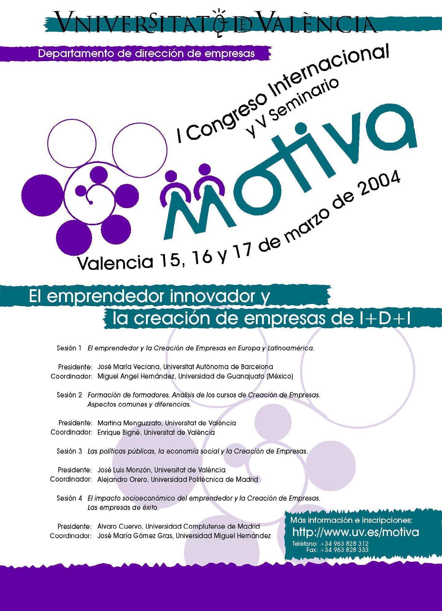 V Encuentro Motiva. España 2004