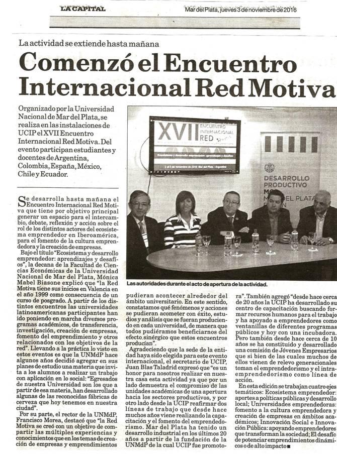 XVII Encuentro Motiva. Argentina 2016