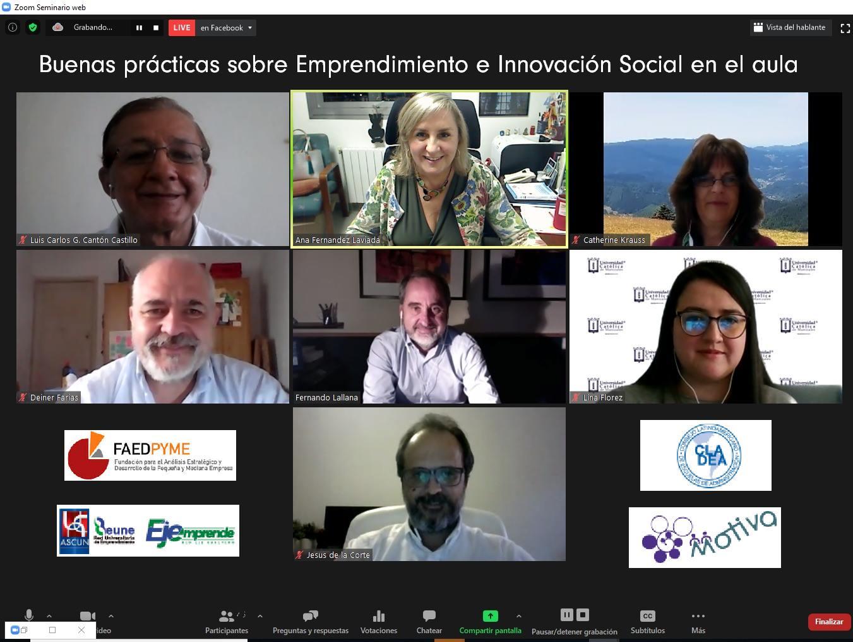 Buenas prácticas de Emprendimiento e Innovación Social en el Aula